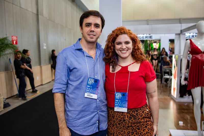 Philomeno Neto e Gabriela Vidal
