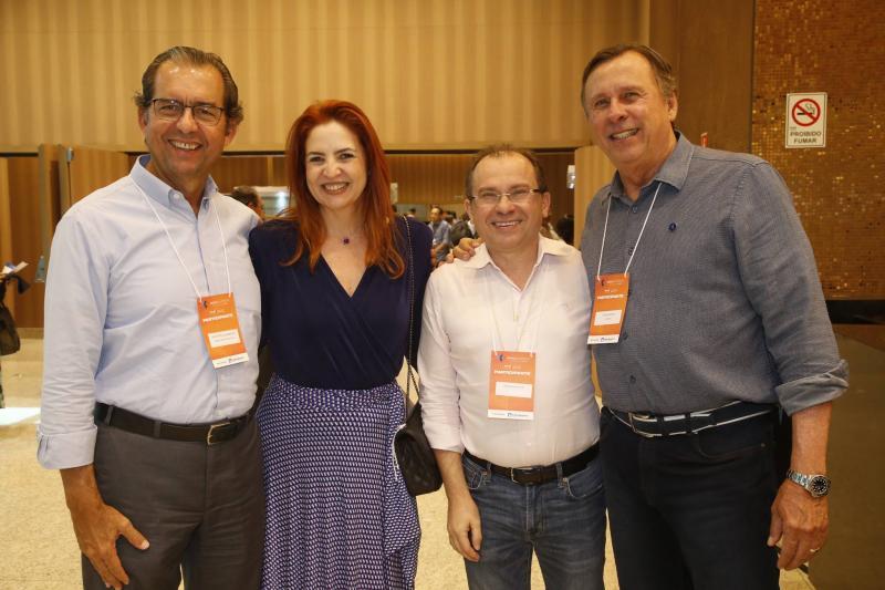 Aristarco Sobreira, Enid Camara, Carlos Matos e Jose Simoes