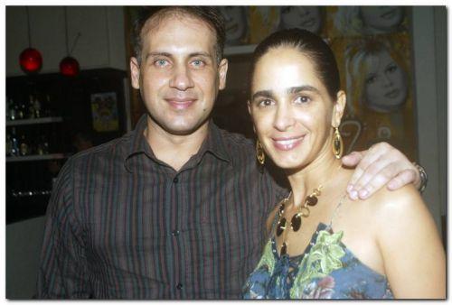 Cicero Moraes e Paula Dafonte