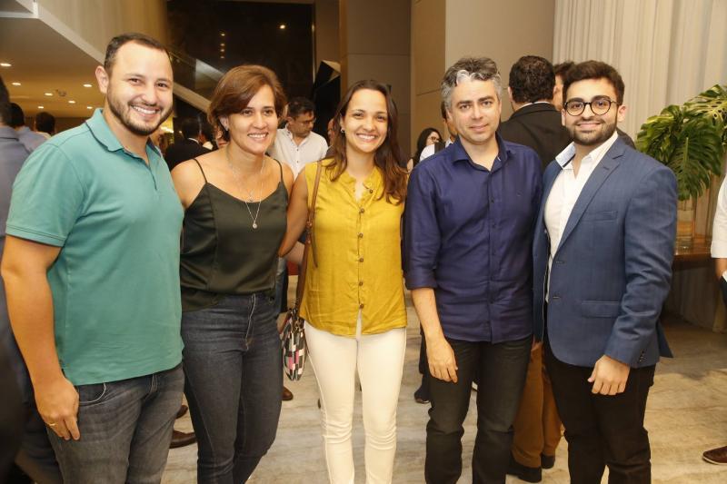Daniel Palacio, Darci Mayra, Joseane, Silvio e Italo Palacio