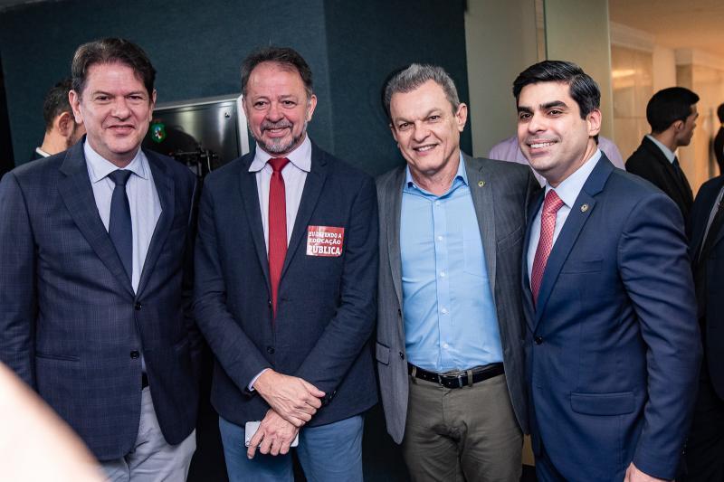 Cid Gomes, Acrisio Cena, Jose Sarto e Queiroz Filho
