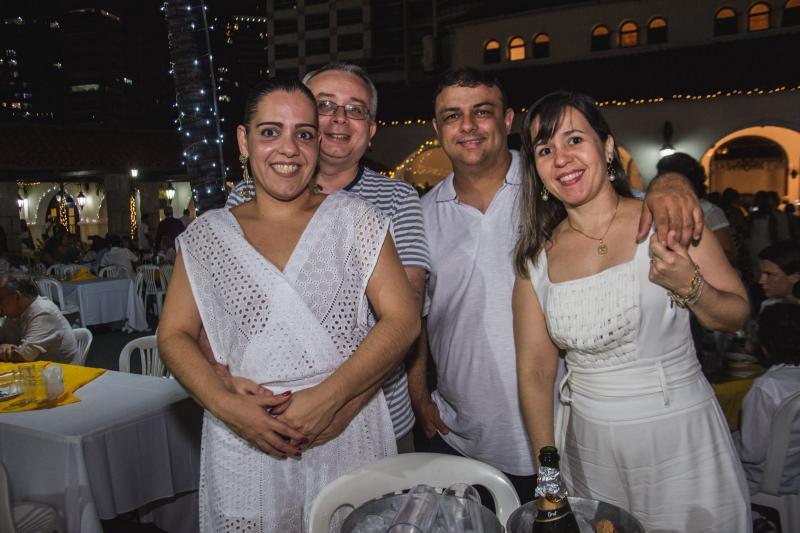 Ana Luiza Farias, Fabricio Barros, Ronald Fontenele e Daniele Araripe
