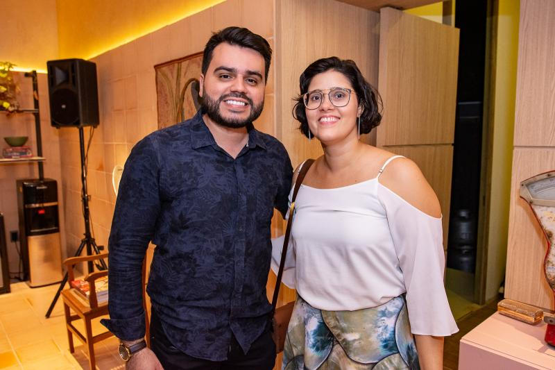 Armando Araujo e Lina Eleuterio