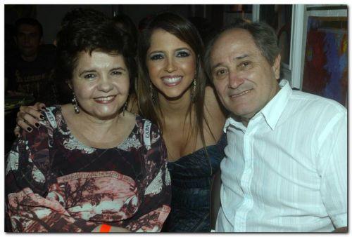 Norma, Sarinha e Dermerval Diniz
