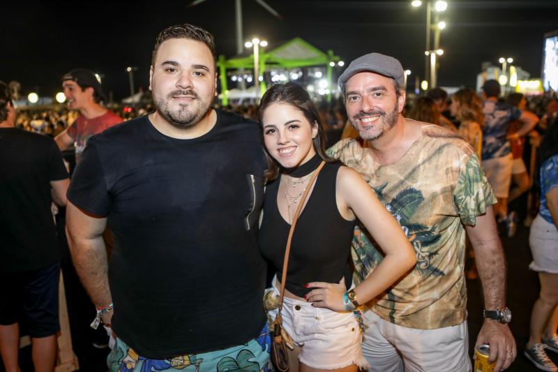 Lucas Coelho, Lada Idelfonso e Paulo Ernando