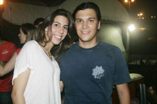 Lara Studart e Helano Nogueira