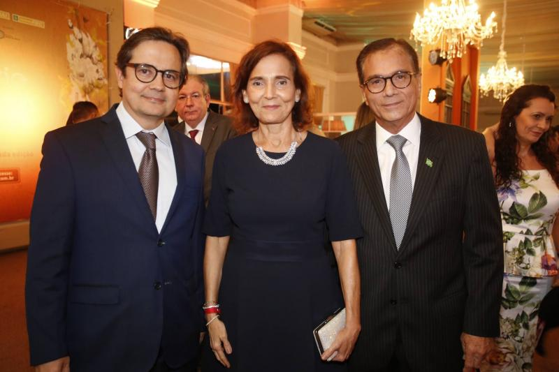 Edilberto Pontes, Izolda Cela e Beto Studart