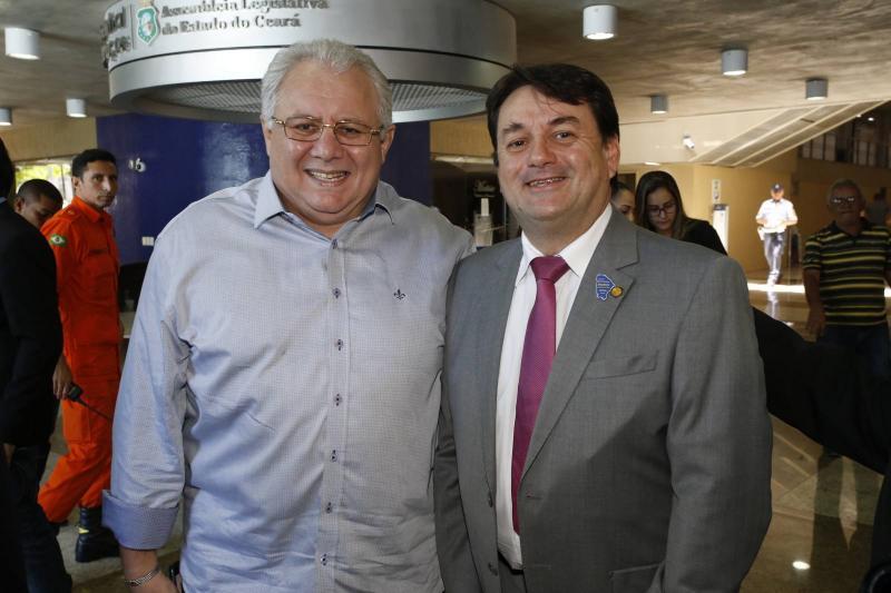 Carlos Silva e Benigno Junior