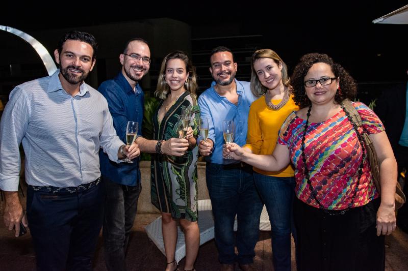 Clovis Holanda, Italo Borges, Victoria Sarro, Helly Ellery, Izakeline Ribeiro e Ana Alice Nogueira