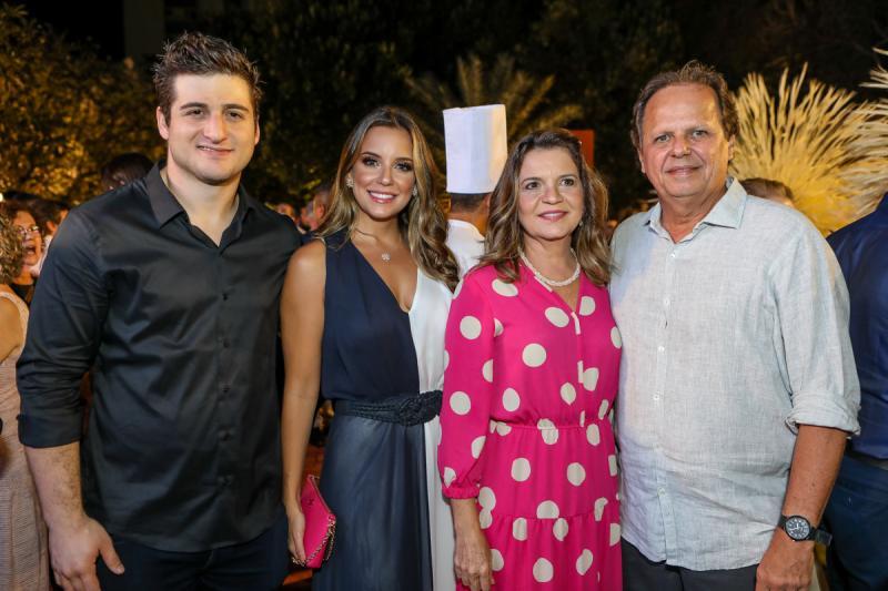 Omar e Fernanda Macedo, Geni e Wilto Levy