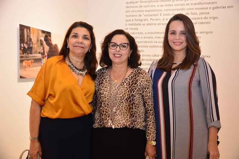 Celina Castro Alves, Teresa Melo e Carol Ranier