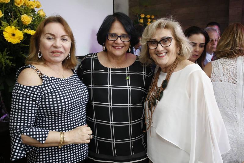 Gorete Pereira, Damares Alves e Socorro Franca