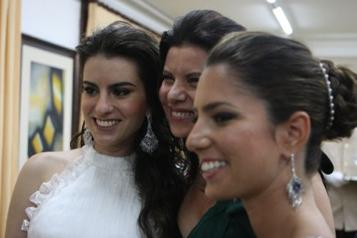 Natasha, Sandra e Nicole Pinheiro Rocha