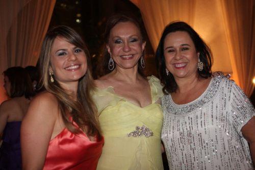 Michelle Rola Cabral, Noélia Pinheiro e Magda Rocha
