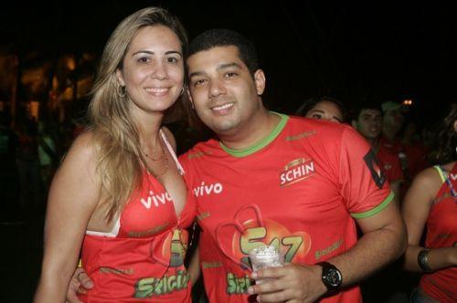 Thais Queiroz e Carlos Fecury