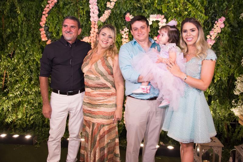 Carlos Pinto, Veronica, Giscard, Liz e Patricia Gurgel
