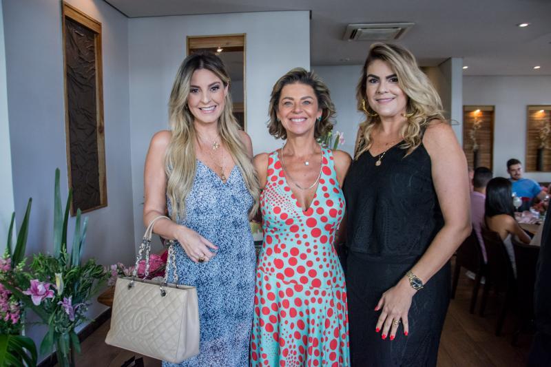 Carol Melo, Ana Cristina Wolf e Erica Gurgel