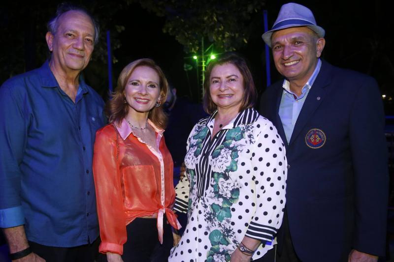 Flavio e Jeissler Melo, Helena e Licinio Correa 1