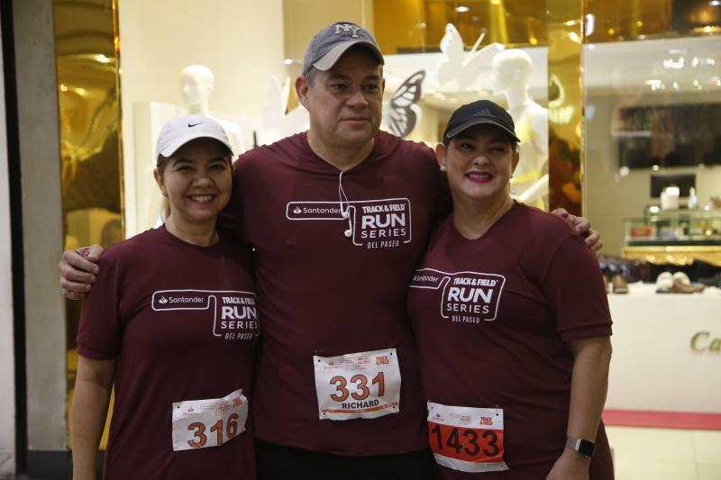 Bete Barros, Richard e Simone Ramos