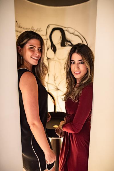 Natalia Benevides e Manoela Linhares