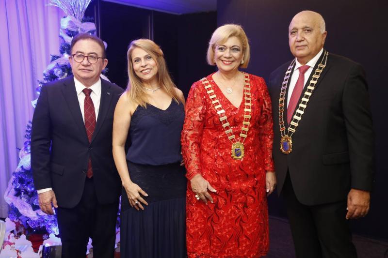 Manuel e Morgana Linhares, Priscila Cavalcante e Epitacio Vasconcelos