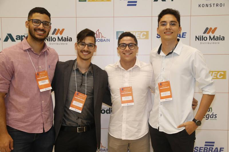 Joao Victor, Thiago Alencar, Israel Lima e Klayver Paz