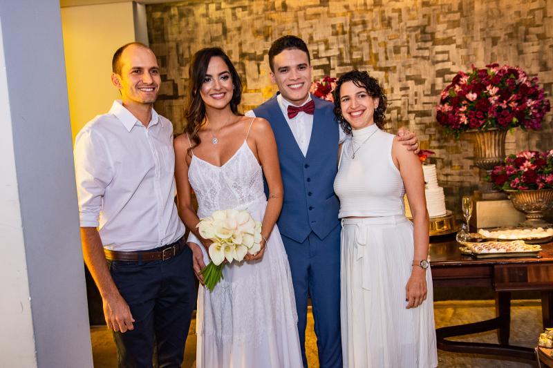 Joao Campos, Jeycielle Oliveira, Marcos Lessa e Clara Cela