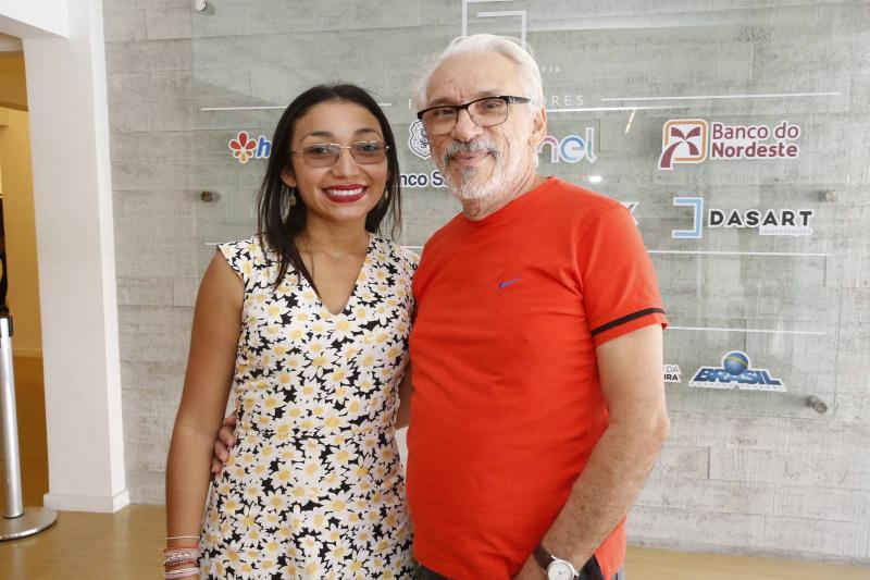 Iasmin Abreu e Galba Sanders