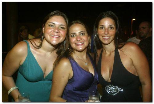 Juliana Anastacio, Camila Tacito e Carolina Cardoso