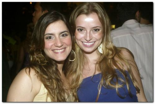Gabriela Pamplona e Poliana Rodrigues