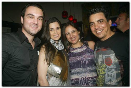 Marcio GuimaraesOlivia Pinto, Renata Silveira e Alexandre Bacana