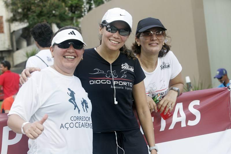 Ailoma Araujo, Claudia Parente e Elizabeth Pereira