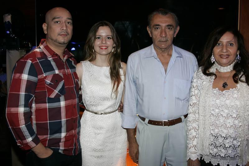 Francisco Junior, Daniele Nunes, Ildenisio Mendes e Marilena Teixeira