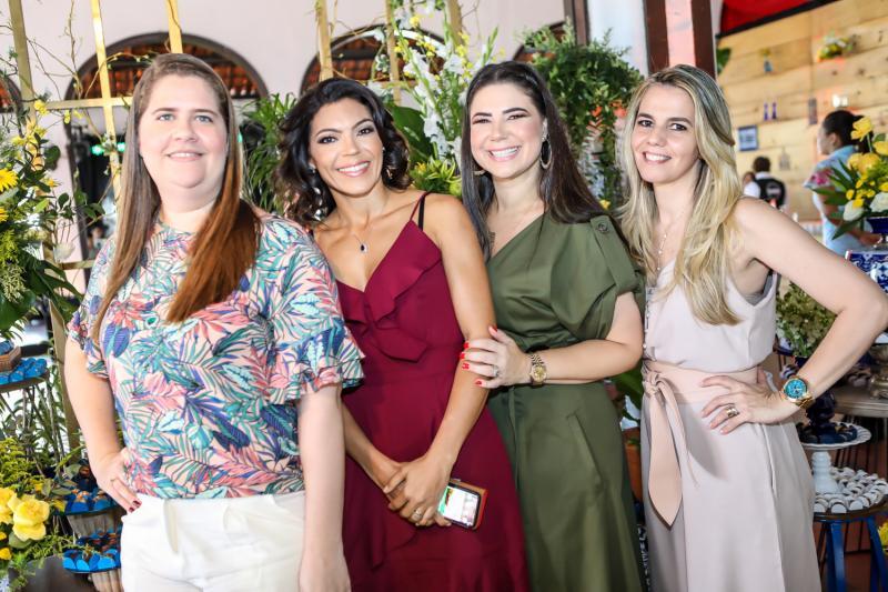 Amanda Farias, Auricelia Monteiro, Cristina Joca e Marcia Pontes