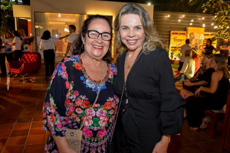 Nereide Figueiredo e Lilian Porto