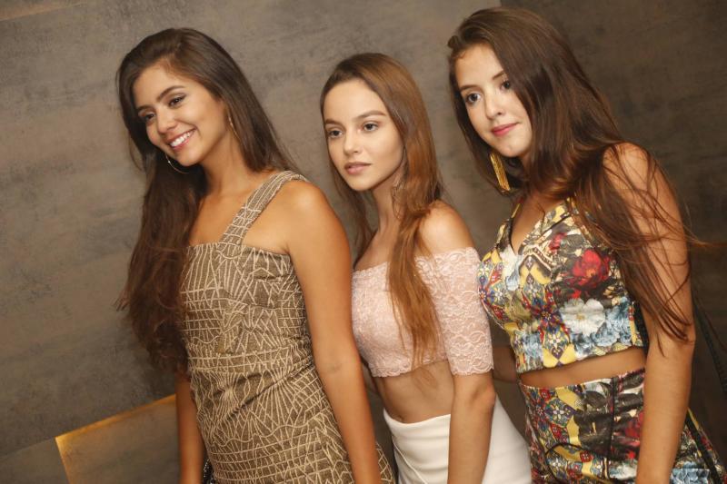 Yasmin Frota, Livia Sampaio e Lara Perdigao