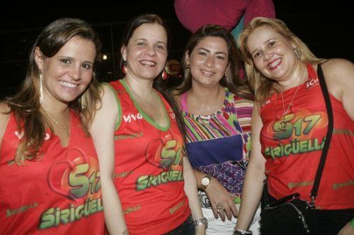 Alessandra Bezerril, Isabelle Borges, Thais Matias e Conceicao Abrantes