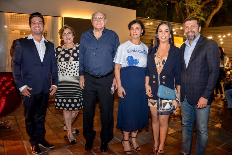 Pedro Gurjao, Rejina Aragao, Luiz Marques, Terezinha Ferreira Ari, Roberta Philomeno e Elsio Batista