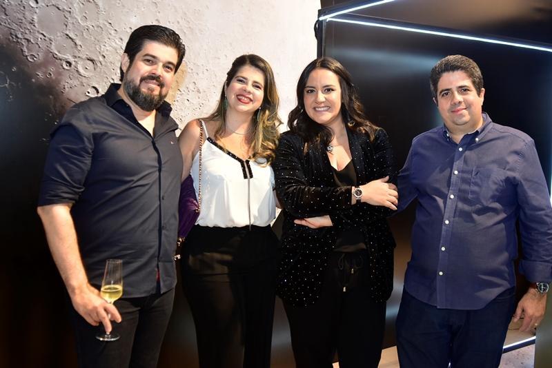 Ailton Leitao, Daniela Leitao, Livia Cravcenco, Alexandre Leitao