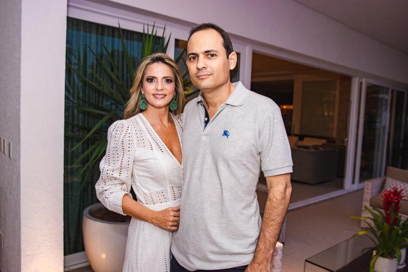 Michelle Aragao e Osnir Coelho