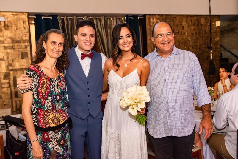 Silvia Nunes, Marcos Lessa, Jeycielle Oliveira e Mauro Carneiro