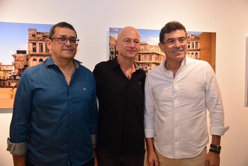 Jose Guedes, Demetrio Jereissati e Alexandre Pereira