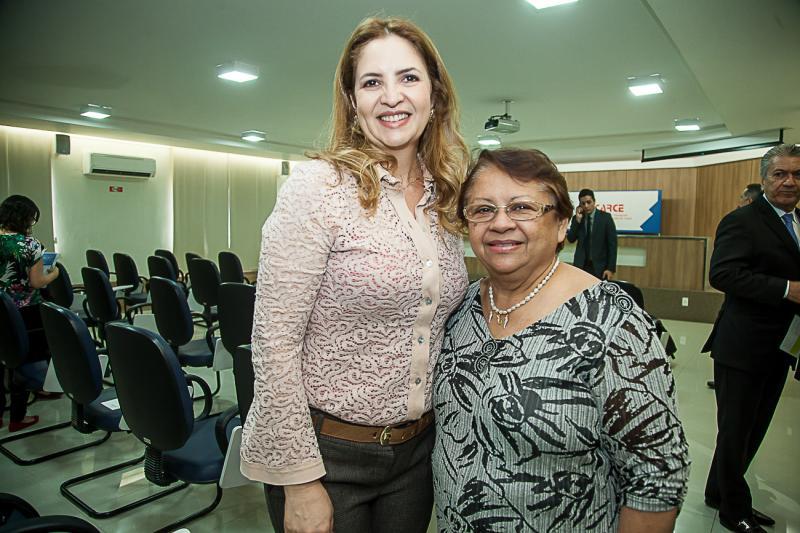 Enid Camara e Gloria Ribeiro
