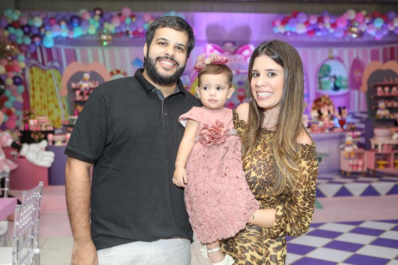 Joao Paulo, Lara e Larissa Braga