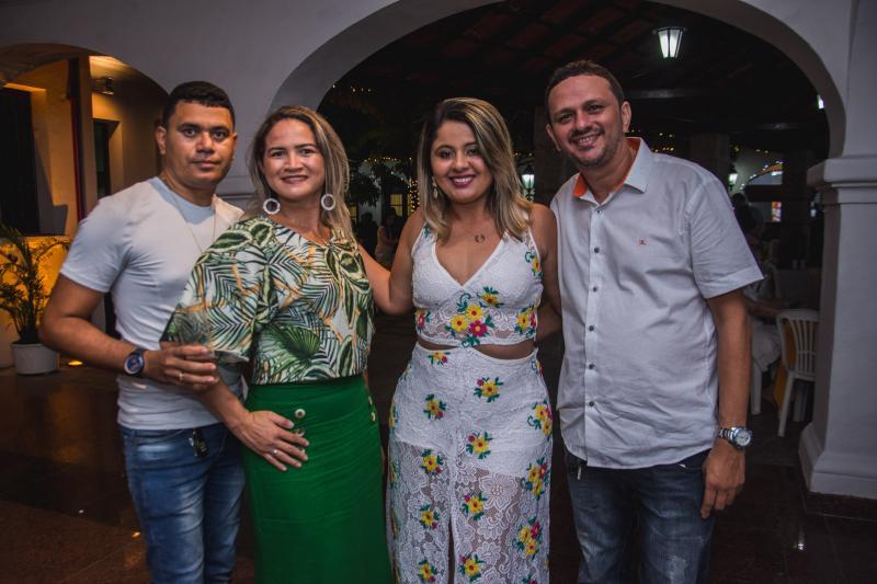 Paulo henrique, Fernanda Alves, Sara Rodrigues e Reginaldo Rodrigues