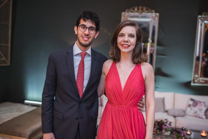 Lucas Ramaro e Verena Voget