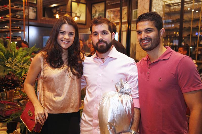 Priscila Ximenes, Felipe Rocha e Bruno Becco
