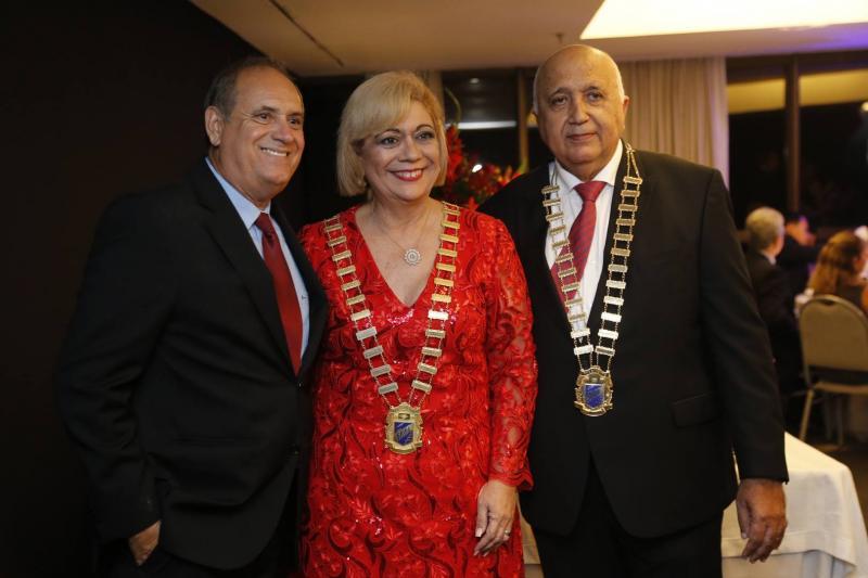 Pedro Perez, Priscila Cavalcante e Epitacio Vasconcelos
