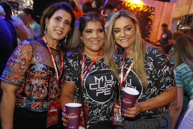 Regina Dias Branco, Gisela Vieira e Celia Magalhaes