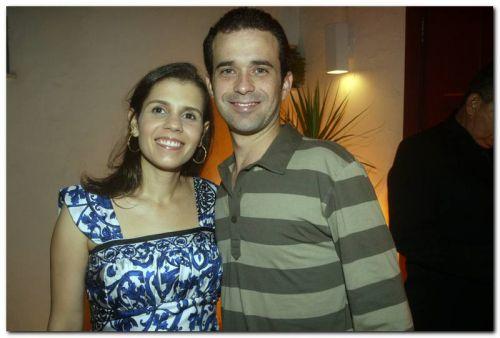 Claudia Diniz e Guilherme Freitas